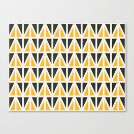 Sunny Triangles Canvas Print