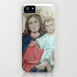 Our Lady Help of Christians iPhone Case