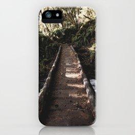 Hoh Rainforest River Trail iPhone Case