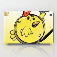 ballon iPad Cases featuring THE CHICKEN BALLON... by mabuna
