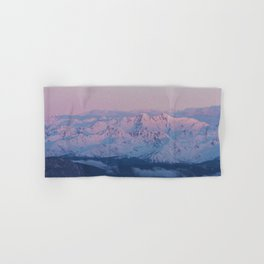 Perfect sunrise in South Tyrol - Landscape and Nature Photography Hand & Bath Towel