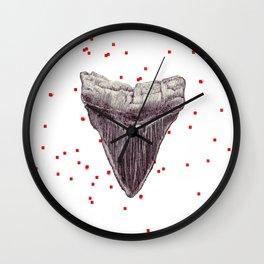 Love Bit Megalodon Wall Clock