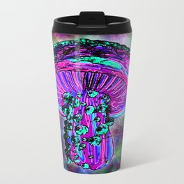 Trippy Shroom Metal Travel Mug