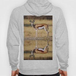 The double Springbok, Africa wildlife Hoody