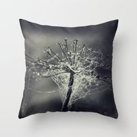 chandelier Throw Pillows featuring chandelier by Dirk Wuestenhagen Imagery