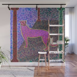 Animal Print Yearning Lost Habitat Wall Mural