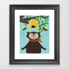Honey! Framed Art Print