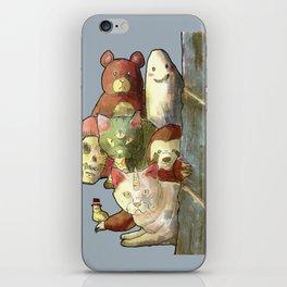 kawaii squad sloth catcorn unicat and friends! iPhone Skin