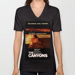 "Lindsay Lohan ""The Canyons"" French Film Poster Unisex V-Neck"