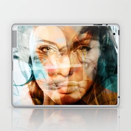faces of Angelina Jolie Laptop & iPad Skin