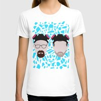 jesse pinkman T-shirts featuring Walter White and Jesse Pinkman by Raquel Segal