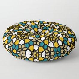 Persian Mosaic – Marigold Palette Floor Pillow