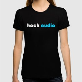 Hack Audio White Logo T-shirt