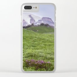 The Fields of Summerland Clear iPhone Case