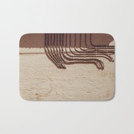 Electric Abstract Bath Mat