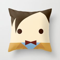 Matt Smith, 11th doctor  Throw Pillow