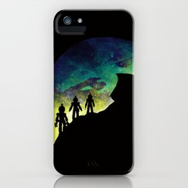 Unknown Lifeforms iPhone Case