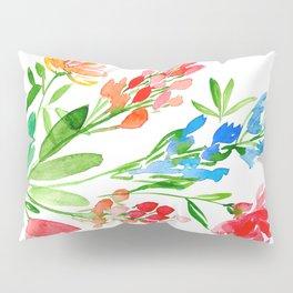 Fleurs de contraste Pillow Sham