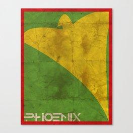 Minimalist Phoenix Canvas Print