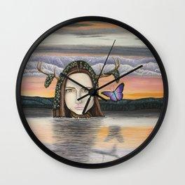L'amour qui cherche la femme Wall Clock
