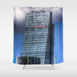 The Cheese Grater London Shower Curtain