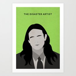 The Disaster Artist Minimalist Poster Art Print