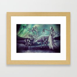 Kaya and Rosetta Framed Art Print