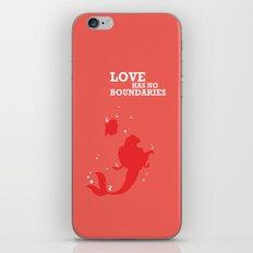 Love Has No Boundaries iPhone & iPod Skin