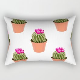 Pink Cactus Multi Rectangular Pillow