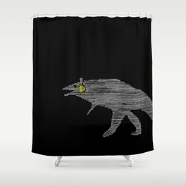 Dinosaure Shower Curtain