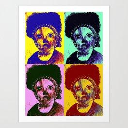 Anaya Art Print