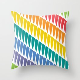 los padres primary Throw Pillow