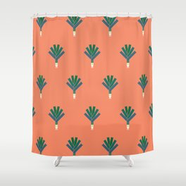 Vegetable: Leek Shower Curtain