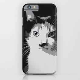 A Feline Mastermind iPhone Case