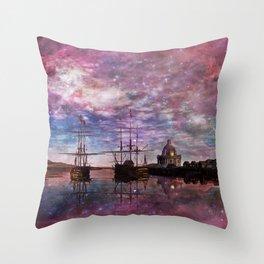 A Safe Anchorage Throw Pillow