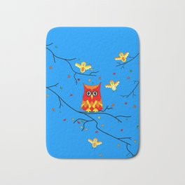 How Tweet It Is Nature Bath Mat