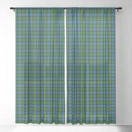 Fletcher Tartan Plaid Sheer Curtain