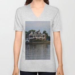 Crooked Boathouse Unisex V-Neck