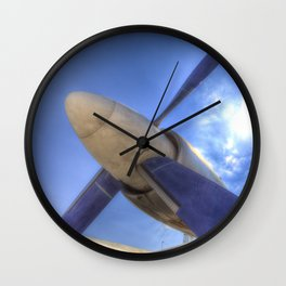 Ilyushin IL-18 Turbojet Engine Wall Clock