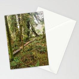 Pacific Coast Rainforest Boardwalk Stationery Cards