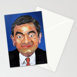 Mr Bean Stationery Cards