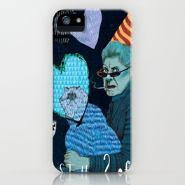 Just the 2 0f Us iPhone Case
