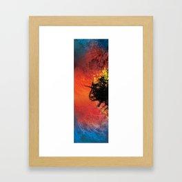 Glorio Galaxy (twins) [left] Framed Art Print