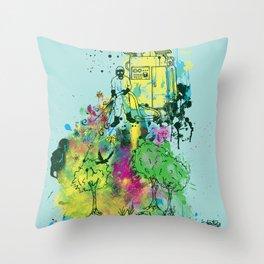 Ecosystem Throw Pillow