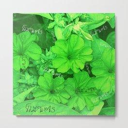Flowers V5 VDC Metal Print