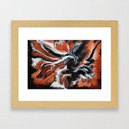 Copper Fox Framed Art Print