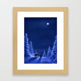 Polar Nights Framed Art Print