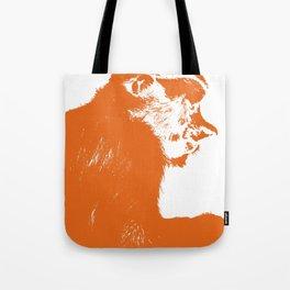 Juvenile proboscis monkey [Umber] Tote Bag