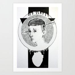 Psychopathy Art Print