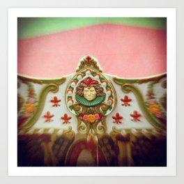 Joker's Carnival Art Print